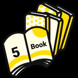 毎月5冊まで経費で書籍を購入可能