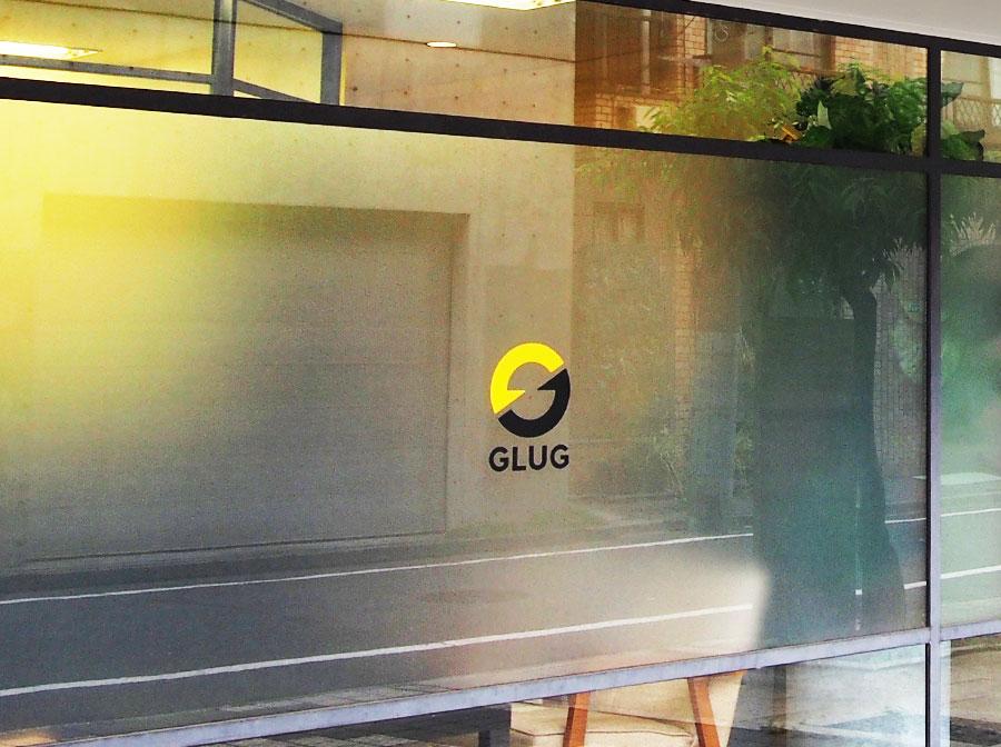 GLUG社正面